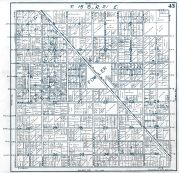 Sheet 43 - Township 15 S., Range 21 E., Fowler, Fresno County 1923